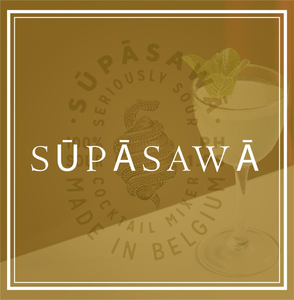 Supasawa gin logo