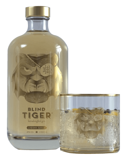 Blind tiger liquid gold gin
